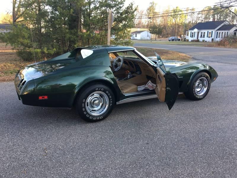 1974 Chevrolet Corvette RARE L82 LOW MILEAGE  DARK GREEN WITH DOCS - Colonial Beach VA
