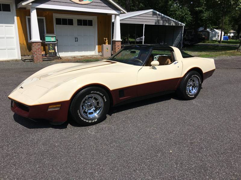 1981 Chevrolet Corvette for sale at F & A Corvette in Colonial Beach VA