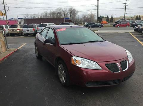 2008 Pontiac G6 for sale at Drive Max Auto Sales in Warren MI