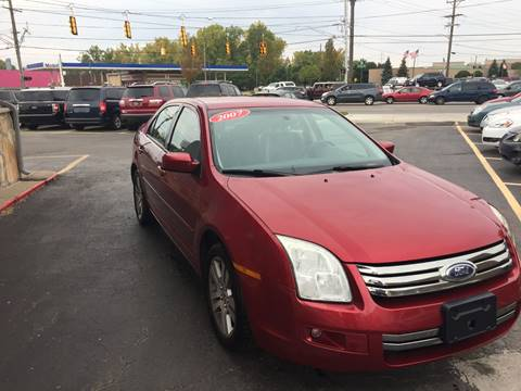 2007 Ford Fusion for sale in Warren, MI