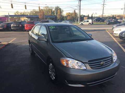 2004 Toyota Corolla for sale in Warren, MI
