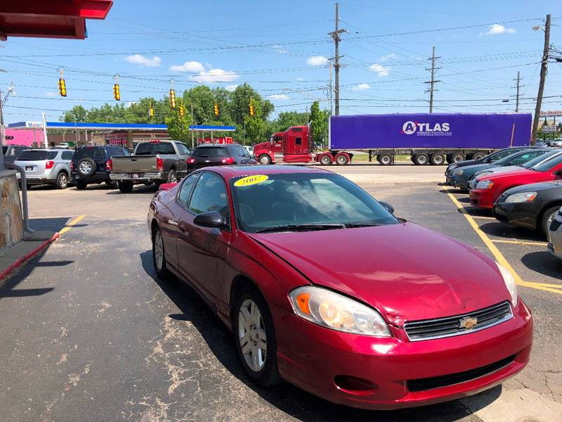 2007 Chevrolet Monte Carlo For Sale At Drive Max Sales U0026 Repairs In Warren  MI