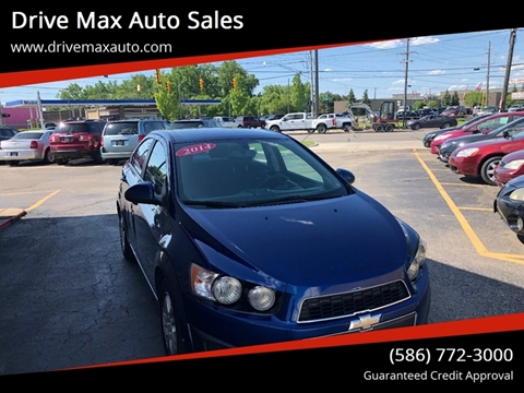 Chevrolet Sonic For Sale in Warren, MI - Drive Max Auto Sales