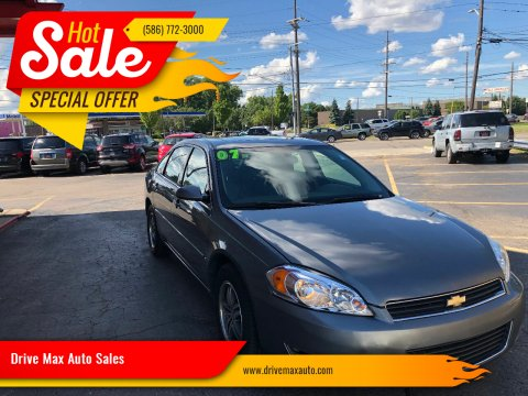 2007 Chevrolet Impala for sale at Drive Max Auto Sales in Warren MI