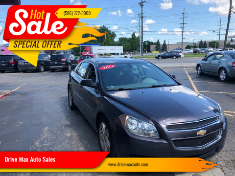 2012 Chevrolet Malibu for sale at Drive Max Auto Sales in Warren MI