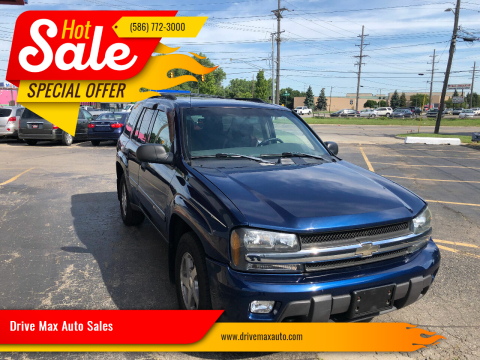 2003 Chevrolet TrailBlazer for sale at Drive Max Auto Sales in Warren MI