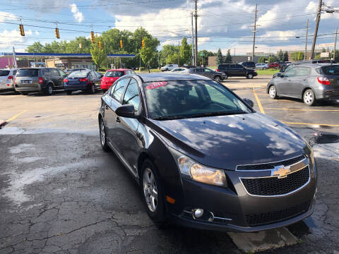 2011 Chevrolet Cruze for sale at Drive Max Auto Sales in Warren MI