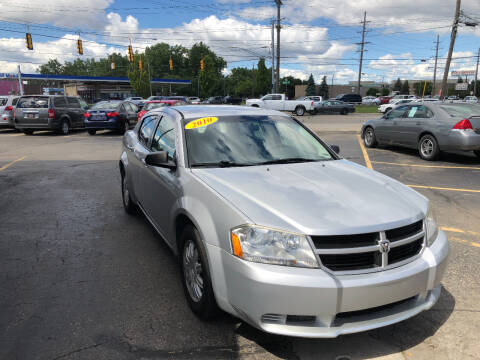 2010 Dodge Avenger for sale at Drive Max Auto Sales in Warren MI