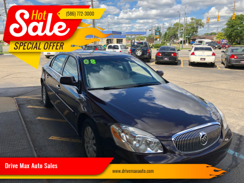 2008 Buick Lucerne for sale at Drive Max Auto Sales in Warren MI