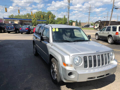 2008 Jeep Patriot for sale at Drive Max Auto Sales in Warren MI