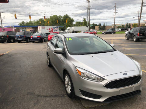 2016 Ford Focus for sale at Drive Max Auto Sales in Warren MI