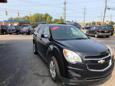 2011 Chevrolet Equinox for sale at Drive Max Auto Sales in Warren MI