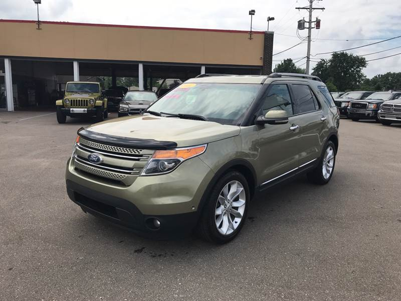 2012 Ford Explorer Detroit Used Car for Sale