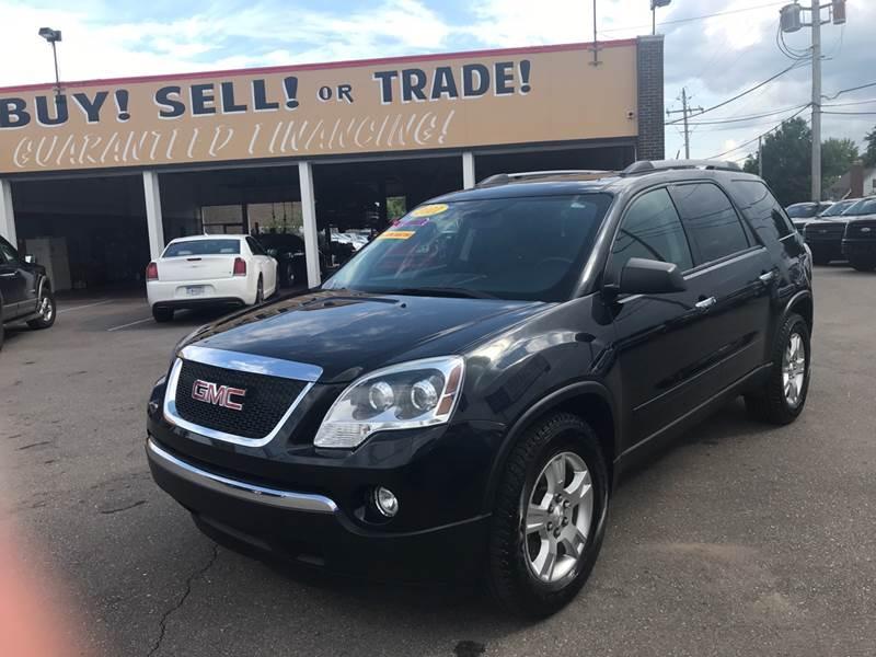 2011 Gmc Acadia Detroit Used Car for Sale