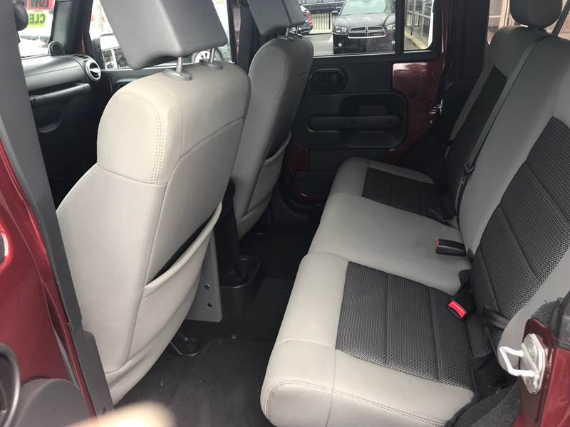 2010 Jeep Wrangler Unlimited Detroit Used Car for Sale