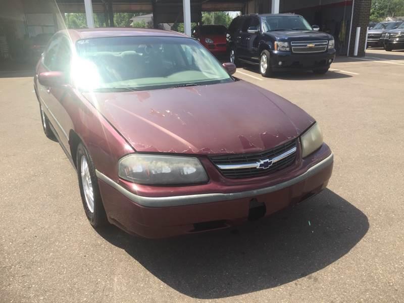 2001 Chevrolet Impala car for sale in Detroit
