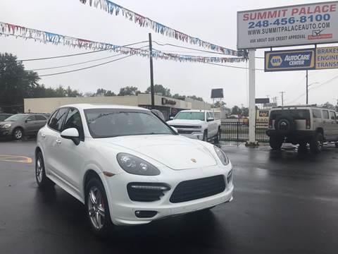 2013 Porsche Cayenne for sale in Waterford, MI