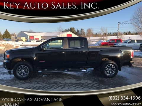 2015 GMC Canyon for sale in Newport, VT