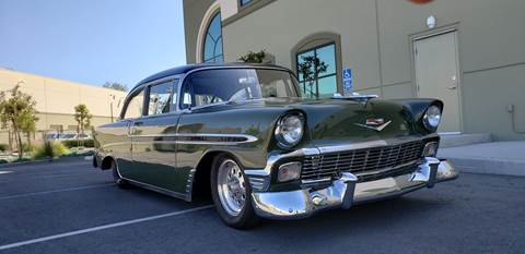 Bel Air Car >> Used 1956 Chevrolet Bel Air For Sale In California Carsforsale Com