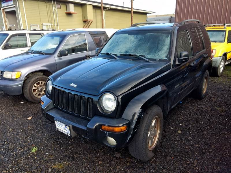2003 Jeep Liberty For Sale At Aberdeen Auto Sales In Aberdeen WA