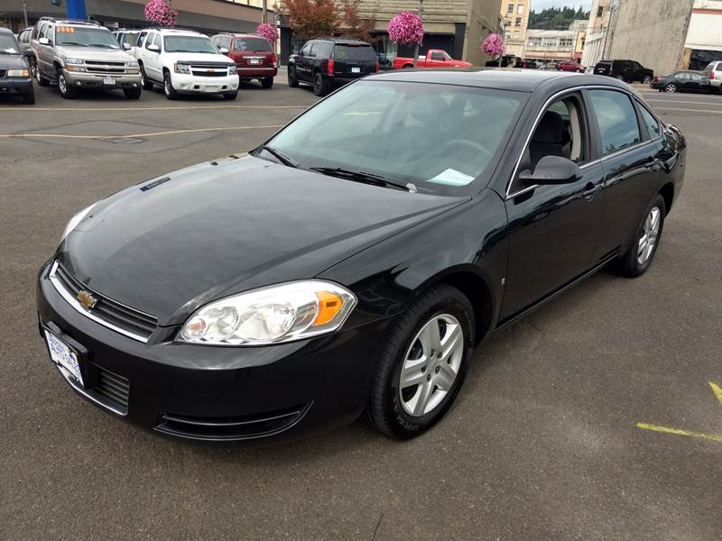 2008 Chevrolet Impala For Sale At Aberdeen Auto Sales In Aberdeen WA