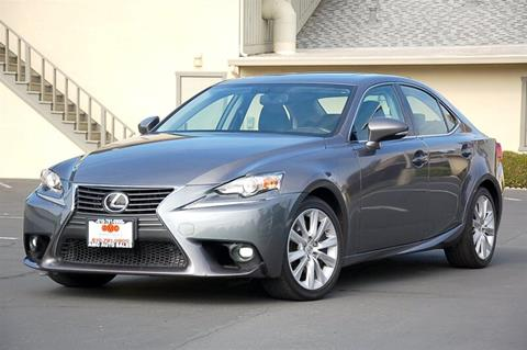 2016 Lexus IS 200t for sale in Fremont, CA