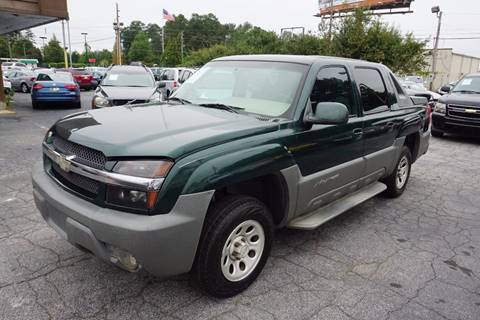 2002 Chevrolet Avalanche for sale in Stone Mountain, GA