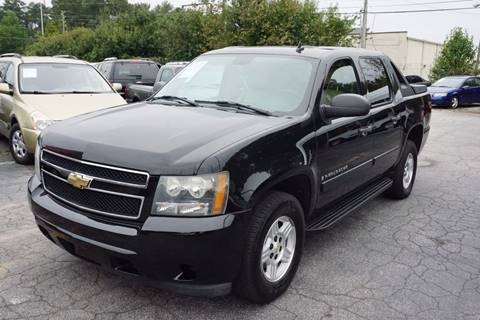 2007 chevrolet avalanche for sale in georgia. Black Bedroom Furniture Sets. Home Design Ideas