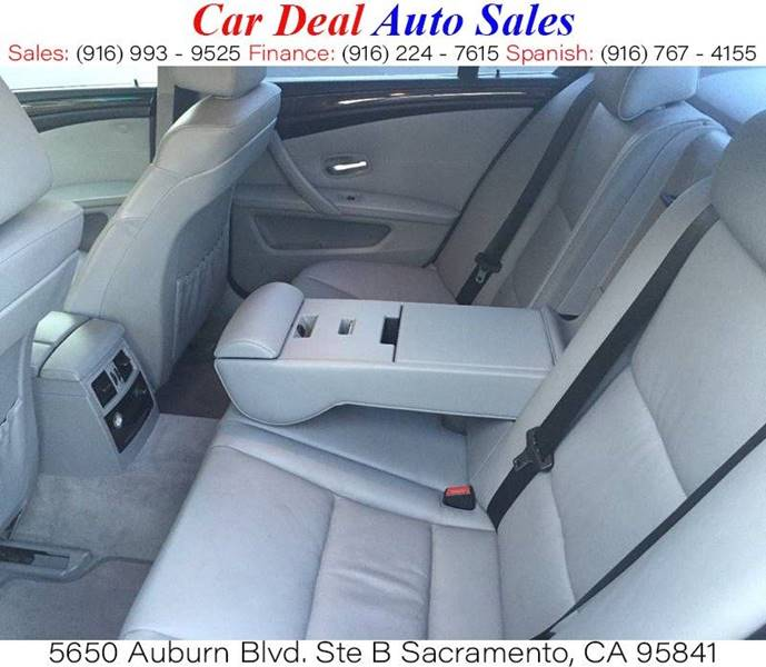 Used Bmw Sacramento: 2008 Bmw 5 Series 528i 4dr Sedan Luxury In Sacramento CA