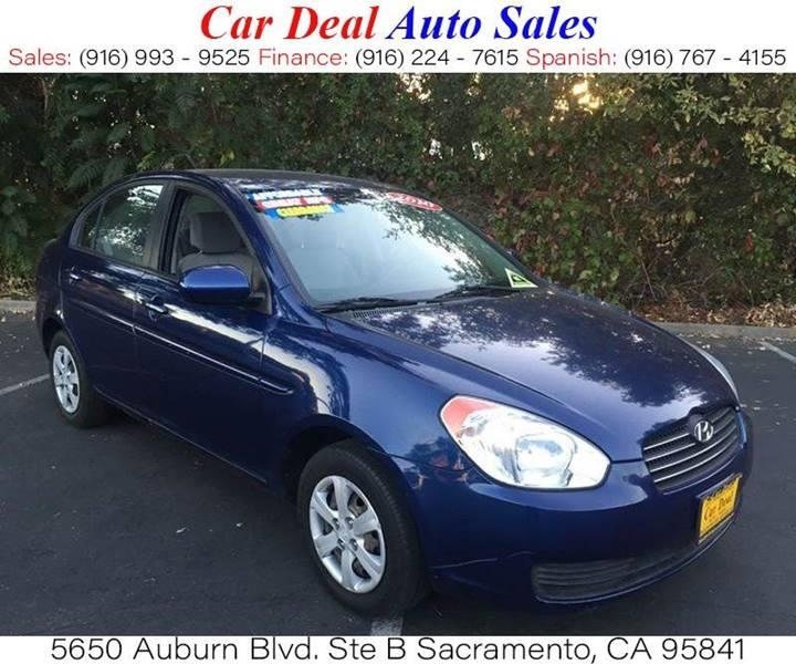 Used Bmw Sacramento: 2010 Hyundai Accent GLS 4dr Sedan 4A In Sacramento CA