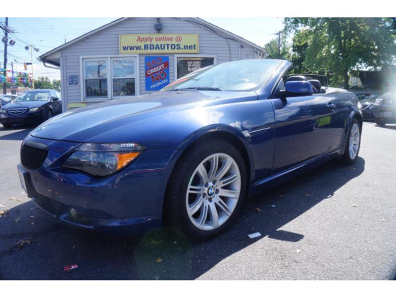 Bmw Series Ci Dr Convertible In Fairless Hills PA B - Bmw 645 convertible for sale