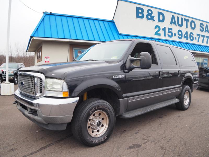 Ford Excursion Xlt Wd Dr Suv Fairless Hills Pa