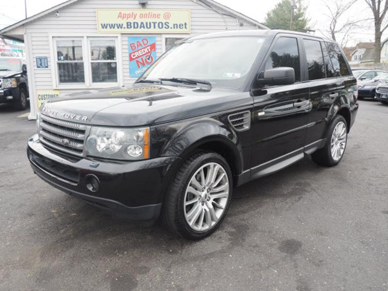 2008 Land Rover Range Rover Sport 4x4 HSE 4dr SUV In ...