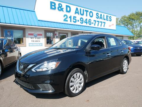 2016 Nissan Sentra for sale in Fairless Hills, PA