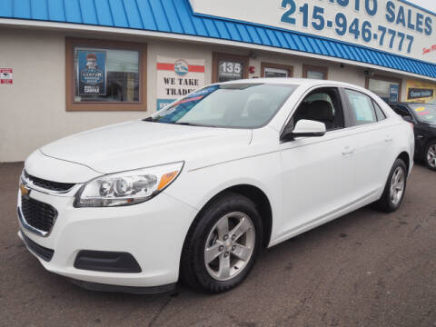 2016 Chevrolet Malibu Limited for sale at B & D Auto Sales Inc. in Fairless Hills PA