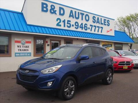 2014 Hyundai Tucson for sale at B & D Auto Sales Inc. in Fairless Hills PA