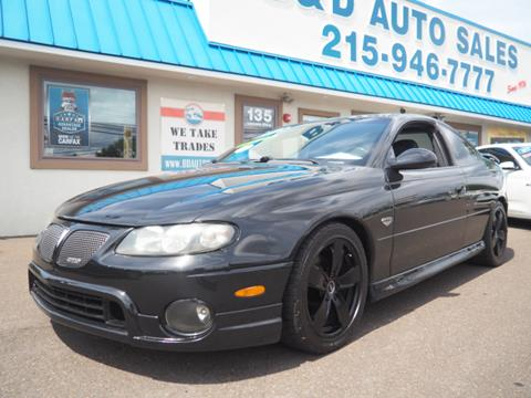 2004 Pontiac GTO for sale in Fairless Hills, PA