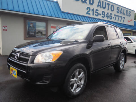 2011 Toyota RAV4 for sale at B & D Auto Sales Inc. in Fairless Hills PA