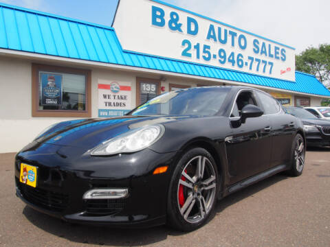 2011 Porsche Panamera for sale at B & D Auto Sales Inc. in Fairless Hills PA