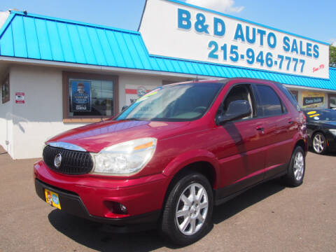 2007 Buick Rendezvous for sale at B & D Auto Sales Inc. in Fairless Hills PA