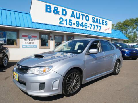 2012 Subaru Impreza for sale at B & D Auto Sales Inc. in Fairless Hills PA