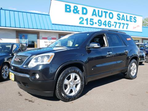 2009 GMC Acadia for sale in Fairless Hills, PA