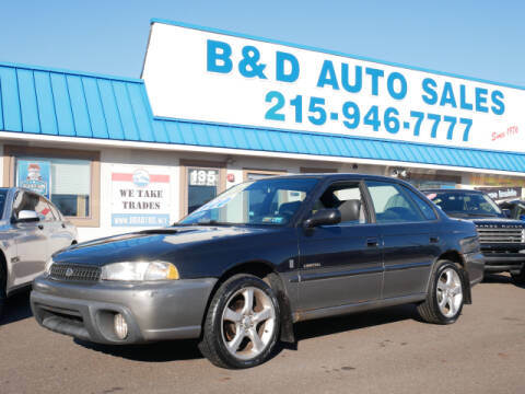 1999 Subaru Legacy for sale at B & D Auto Sales Inc. in Fairless Hills PA