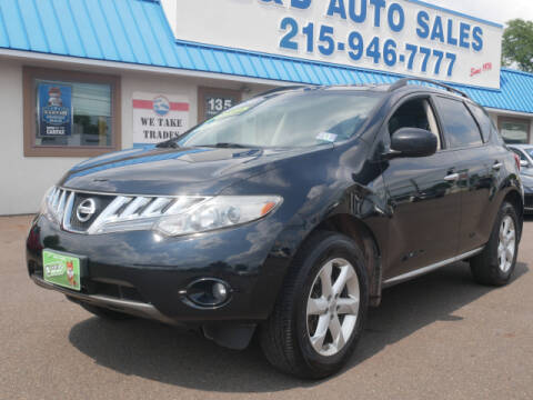 2010 Nissan Murano for sale at B & D Auto Sales Inc. in Fairless Hills PA