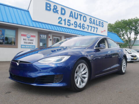 2017 Tesla Model S for sale at B & D Auto Sales Inc. in Fairless Hills PA