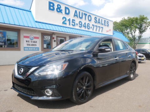 2017 Nissan Sentra for sale at B & D Auto Sales Inc. in Fairless Hills PA