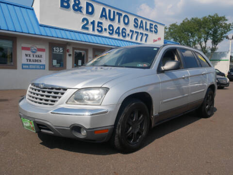 2006 Chrysler Pacifica for sale at B & D Auto Sales Inc. in Fairless Hills PA