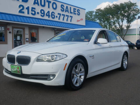 2012 BMW 5 Series for sale at B & D Auto Sales Inc. in Fairless Hills PA