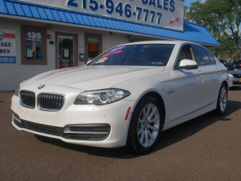2014 BMW 5 Series for sale at B & D Auto Sales Inc. in Fairless Hills PA