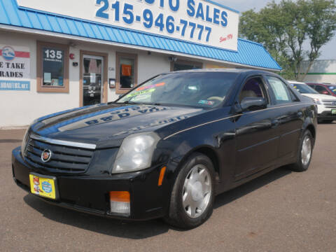 2004 Cadillac CTS for sale at B & D Auto Sales Inc. in Fairless Hills PA
